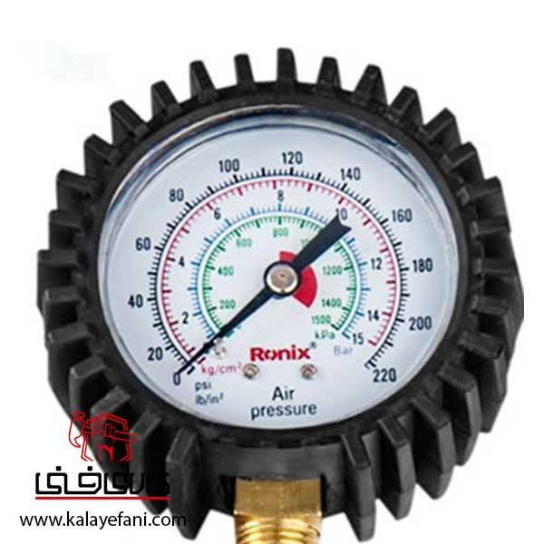 درجه باد کارگاهی رونیکس هفت تیری مدل RH-6801