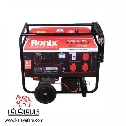 موتور برق (ژنراتور) رونیکس 6000 وات مدل RH-4760