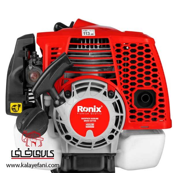 علف زن رونیکس بنزینی کوله پشتی مدل 4552