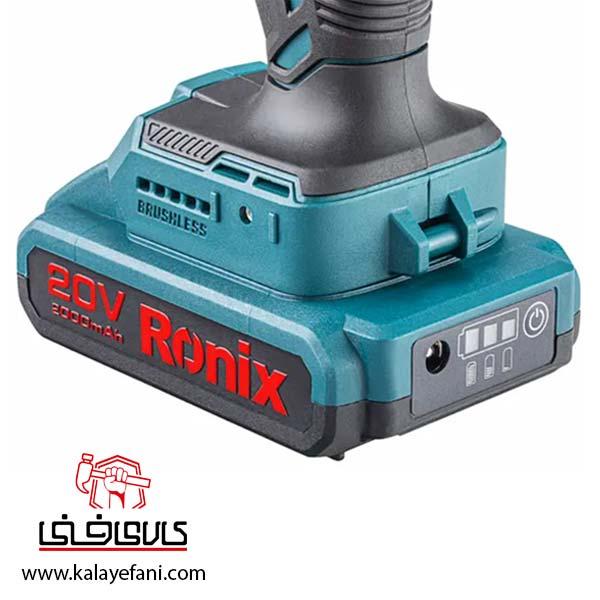 دریل شارژی رونیکس 8900K